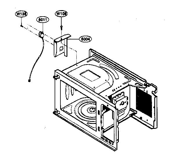 Kenmore 72163299303 sensor parts diagram