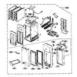 Kenmore 72163299300 toaster parts diagram