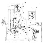 Kenmore 38515616500 presser bar assy diagram