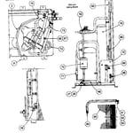 Carrier 38QRR060300 inside cabinet parts diagram