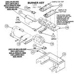 Carrier 48DU042060300 burner assy diagram