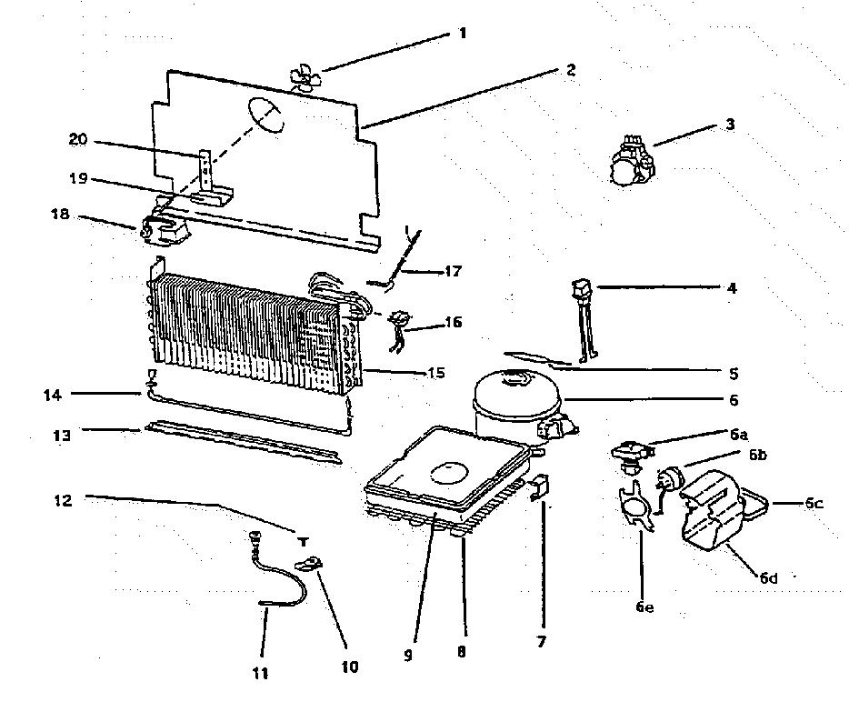 Wc Wood  Upright  Compressor assy