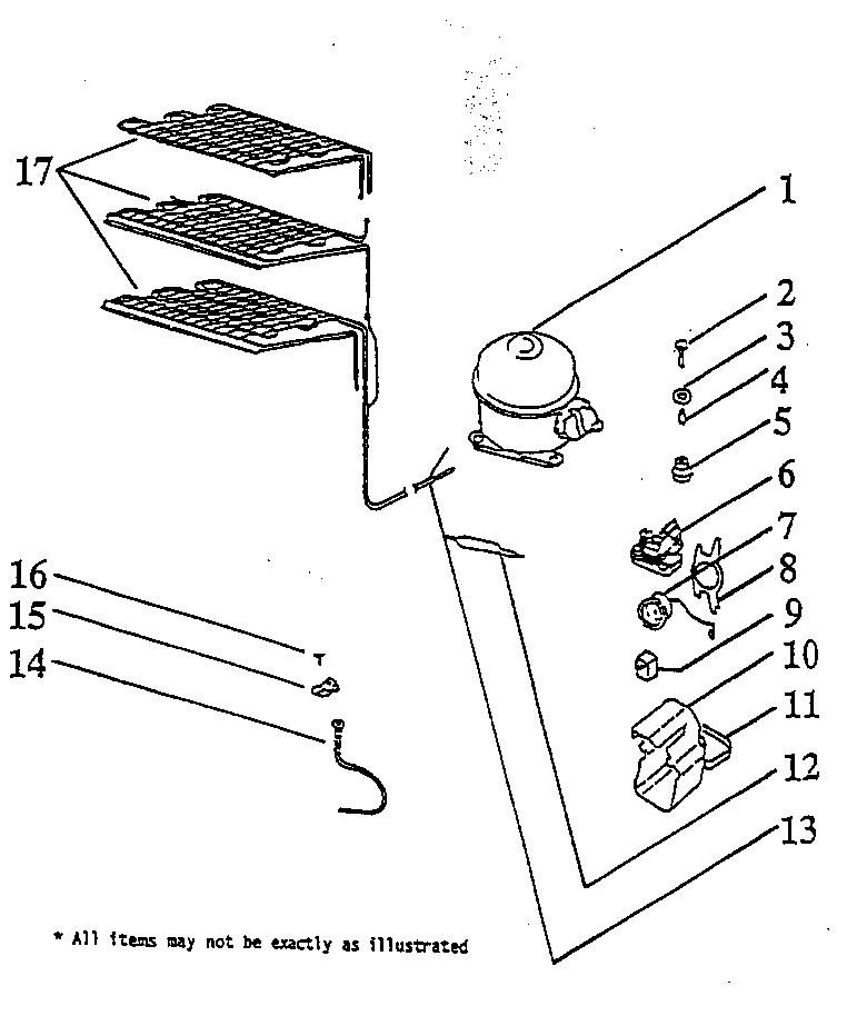 Wc Wood  Freezer  Unit compartment/system