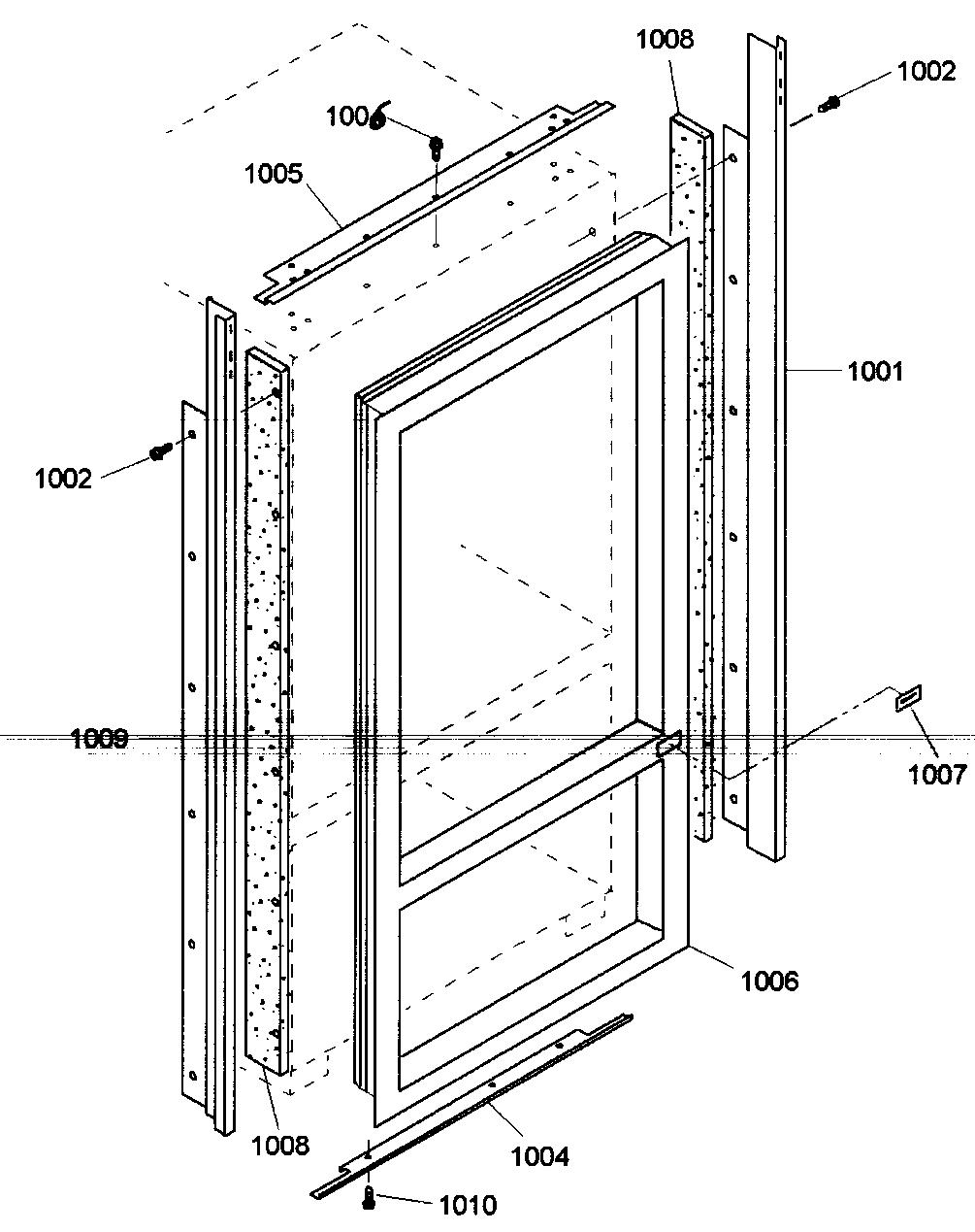 Thermador  Refrigerator  Trim asy