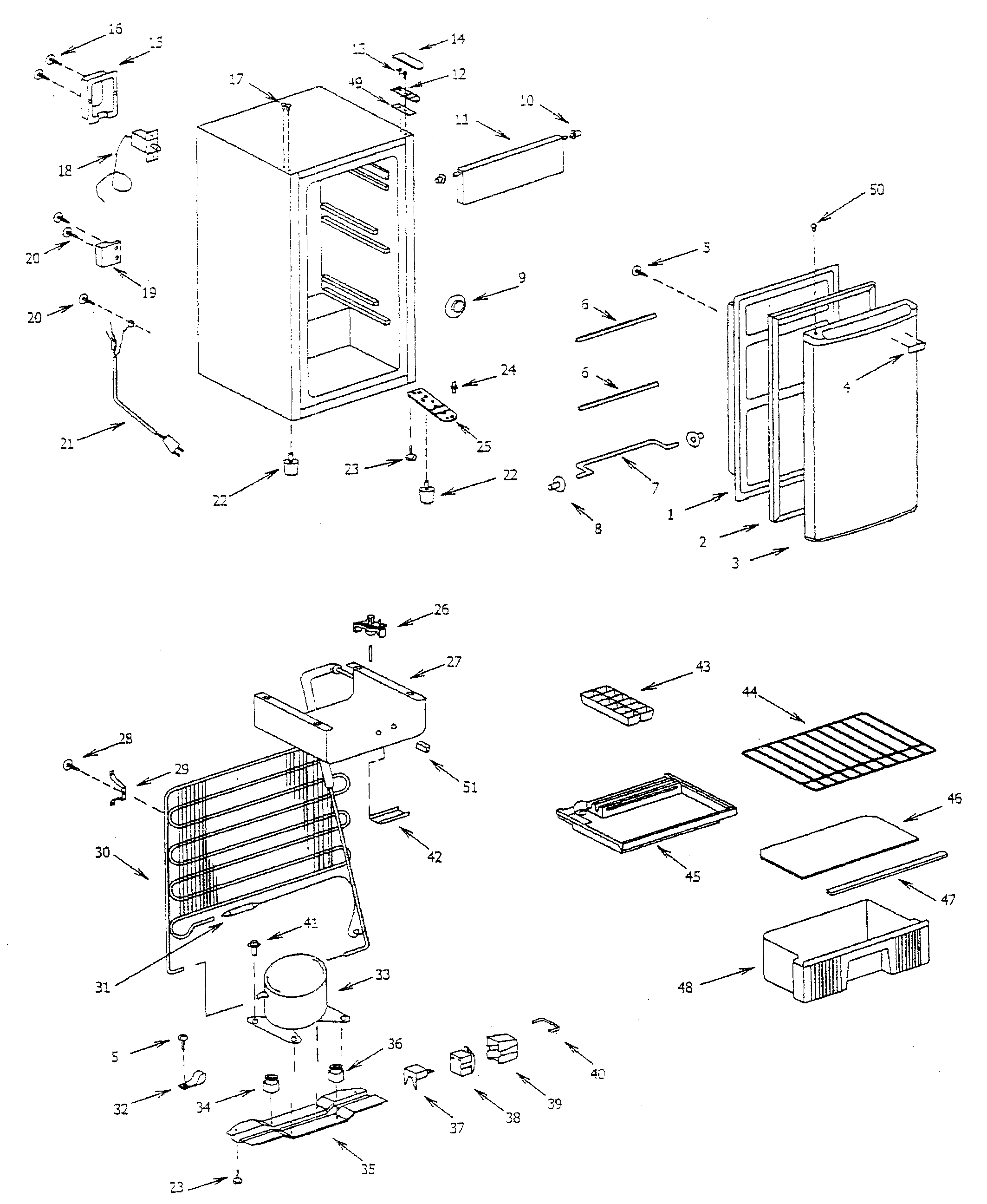Sanyo Mini Fridge Wiring Diagram. . Wiring Diagram on