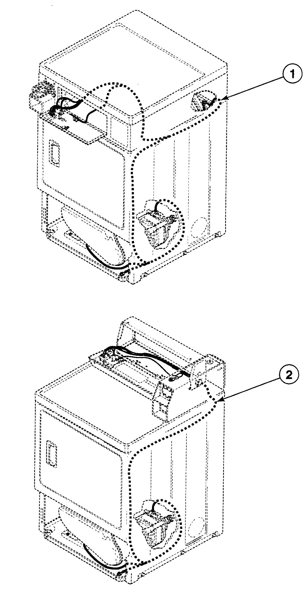 Speed Queen  Dryer  Harnesses