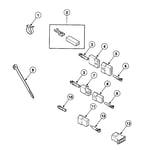 Speed Queen SSE917QF terminals diagram