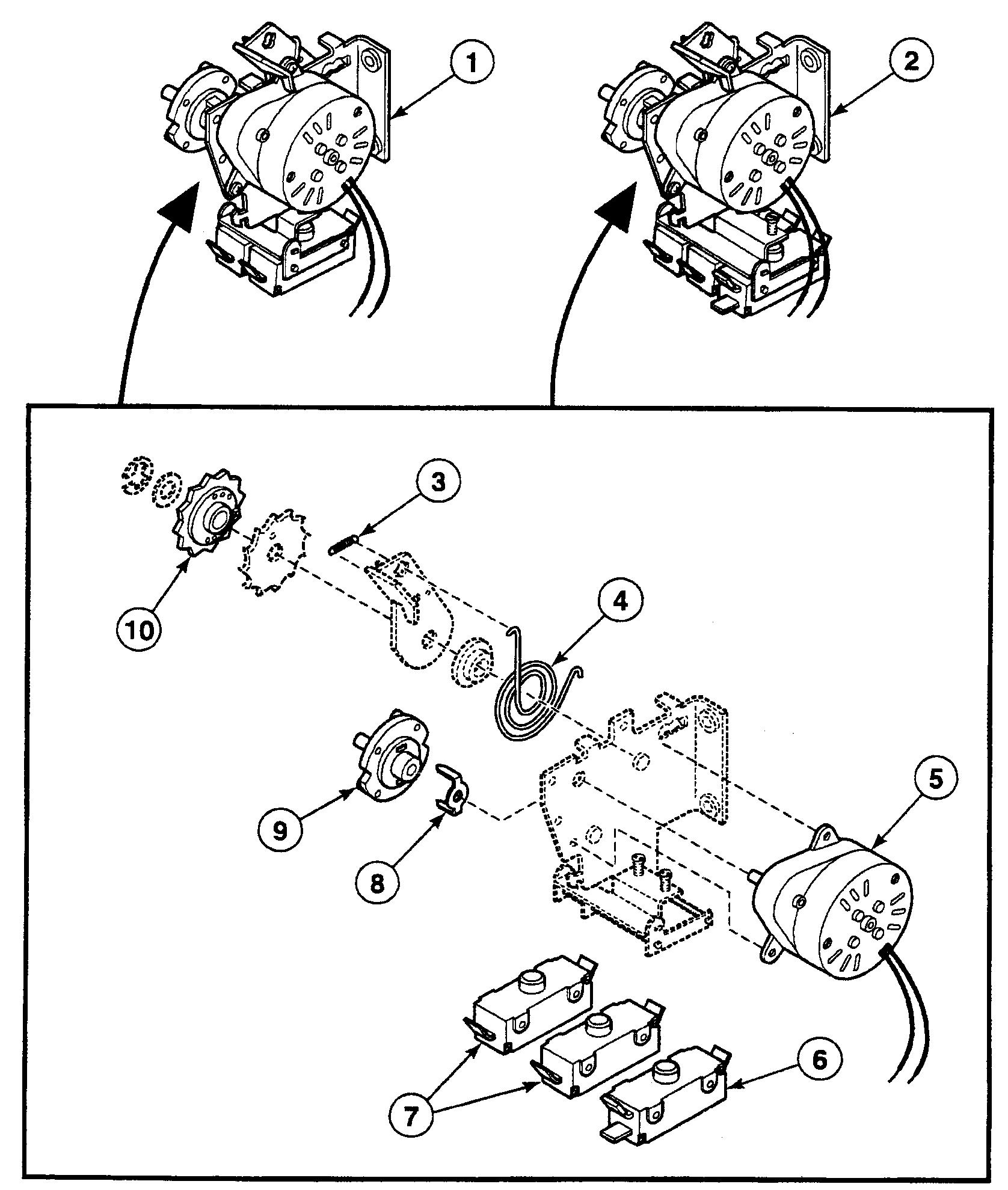 Speed Queen  Dryer  Accumulator