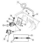 Speed Queen SWT2B0QN1124 valve assy diagram