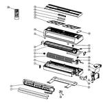 Enviroair KWH18000 cabinet parts diagram