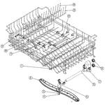 Dacor ED30SBR upper rack diagram