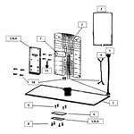 Samsung UN46C9000FXZA stand base diagram