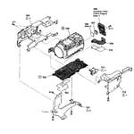 Sony HDR-CX130/S lens assy diagram