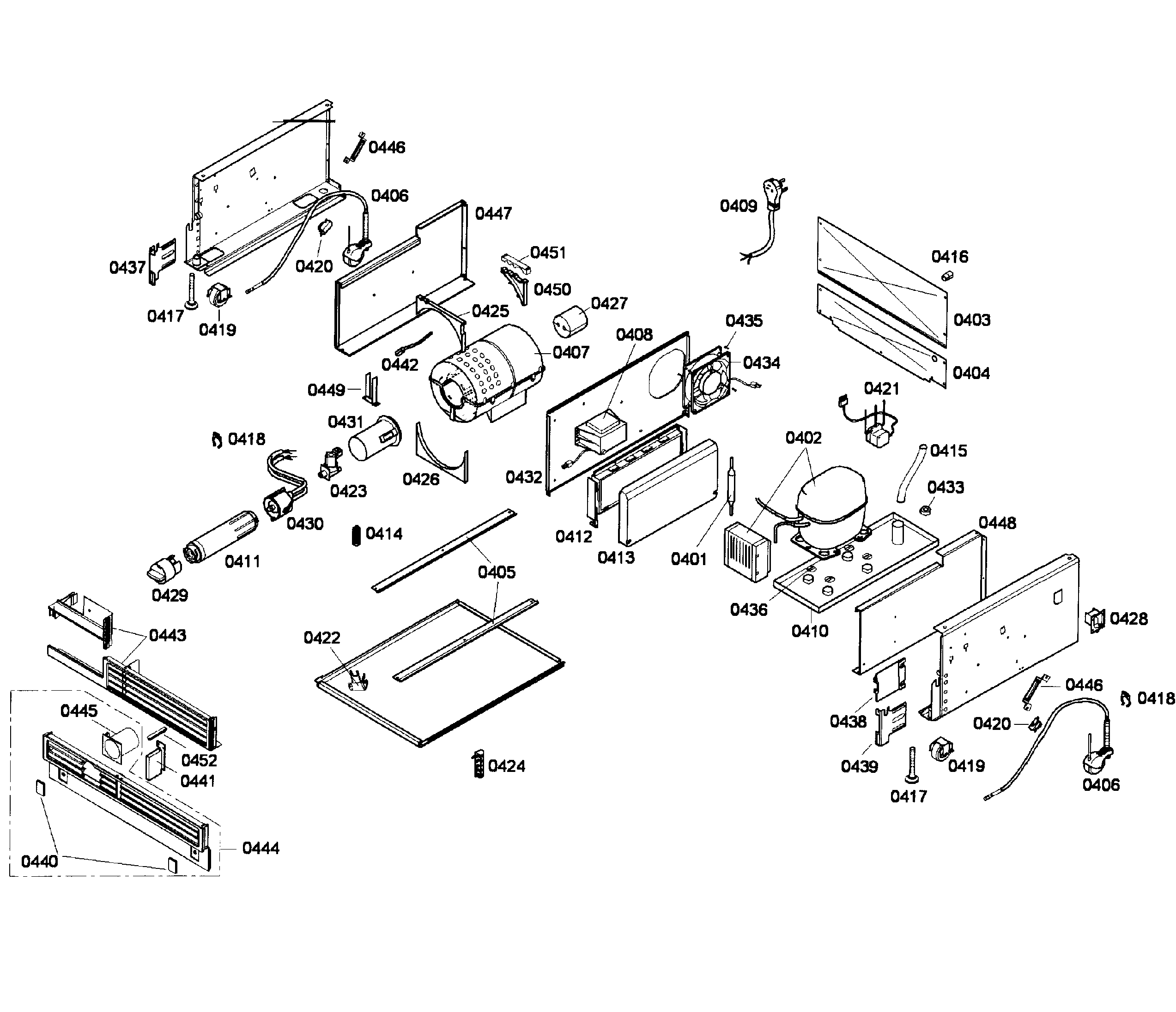Thermador  Built-In Freezer Column  Compressor