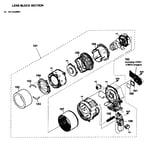 Sony HDR-CX210/L lcd assy diagram