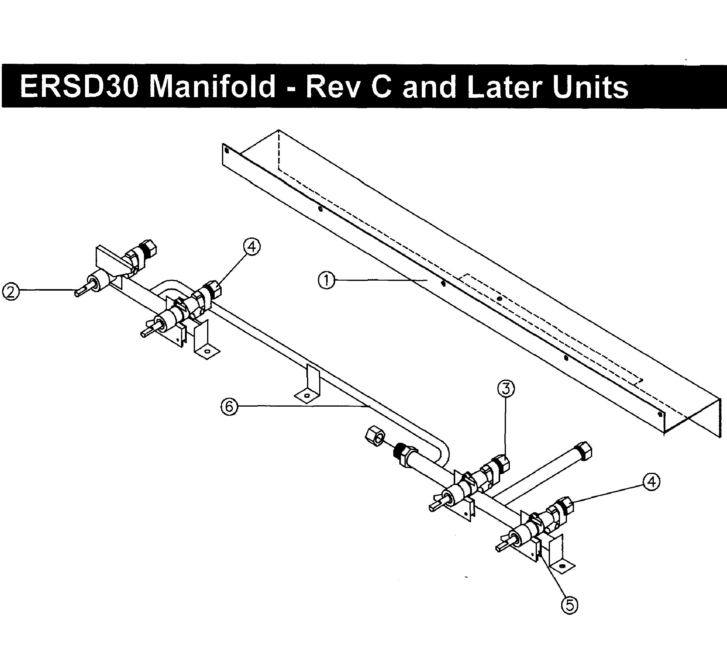 Dacor  Range  Manifold-rev c up