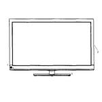 RCA 39LB45RQ cabinet parts diagram