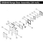 Dacor ERSD48NGH door 18 diagram