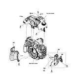 Sony SLT-A57K sub assy diagram