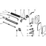 Mitsubishi MSZ-A09NA fan assy diagram