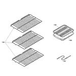 Bosch HBL5760UC/06 oven shelfs diagram