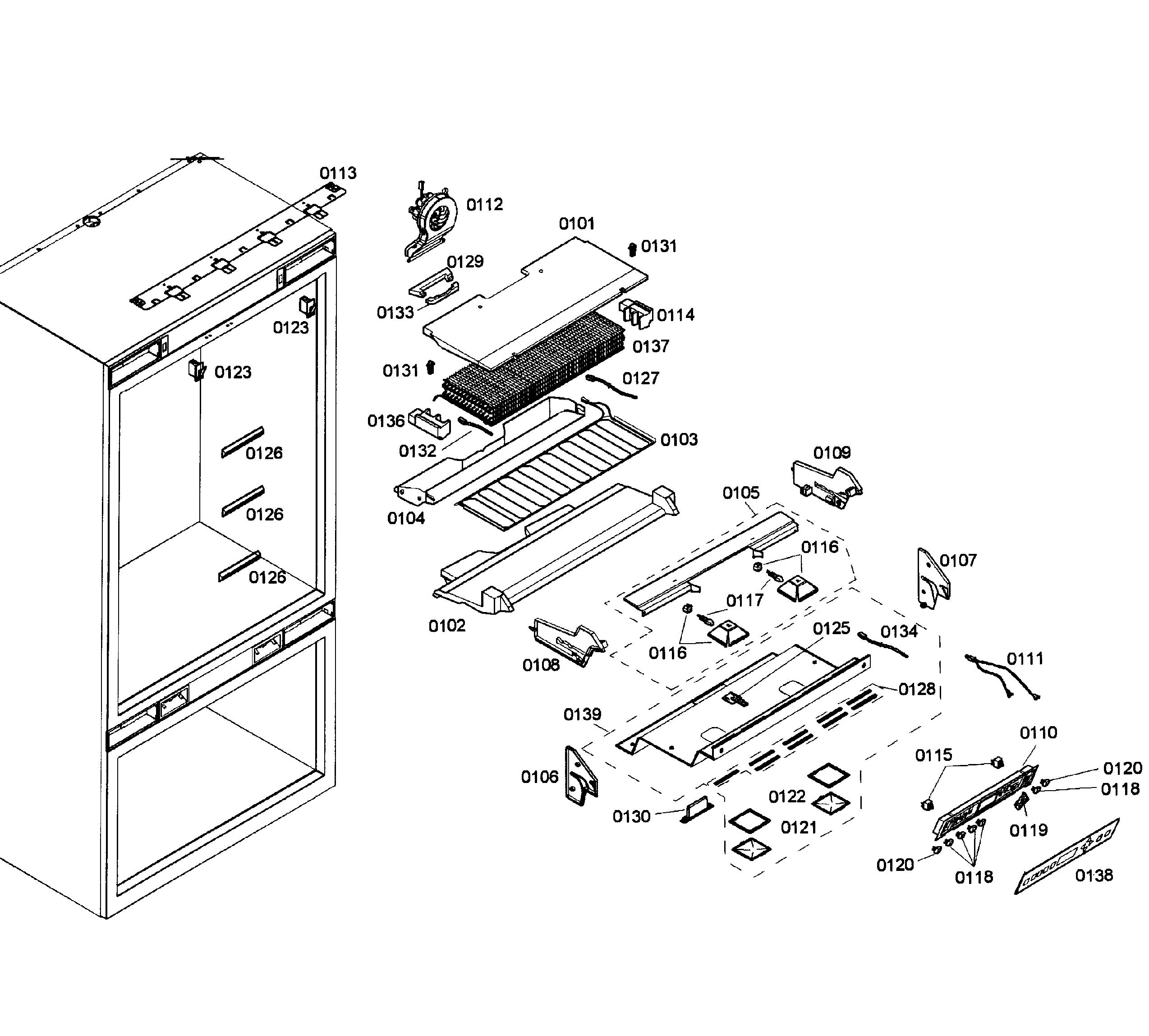 Thermador  Refrigerator  Control panel