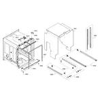 Bosch SHE65T52UC/02 cabinet diagram