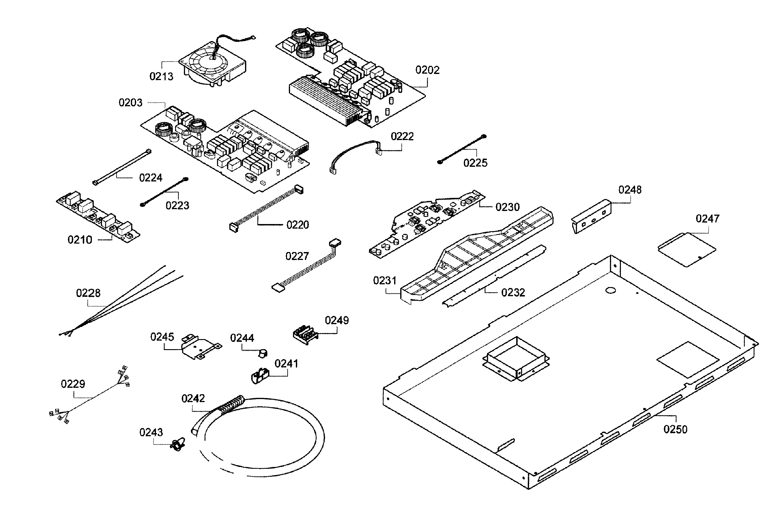 Bosch  Cooktop   Parts