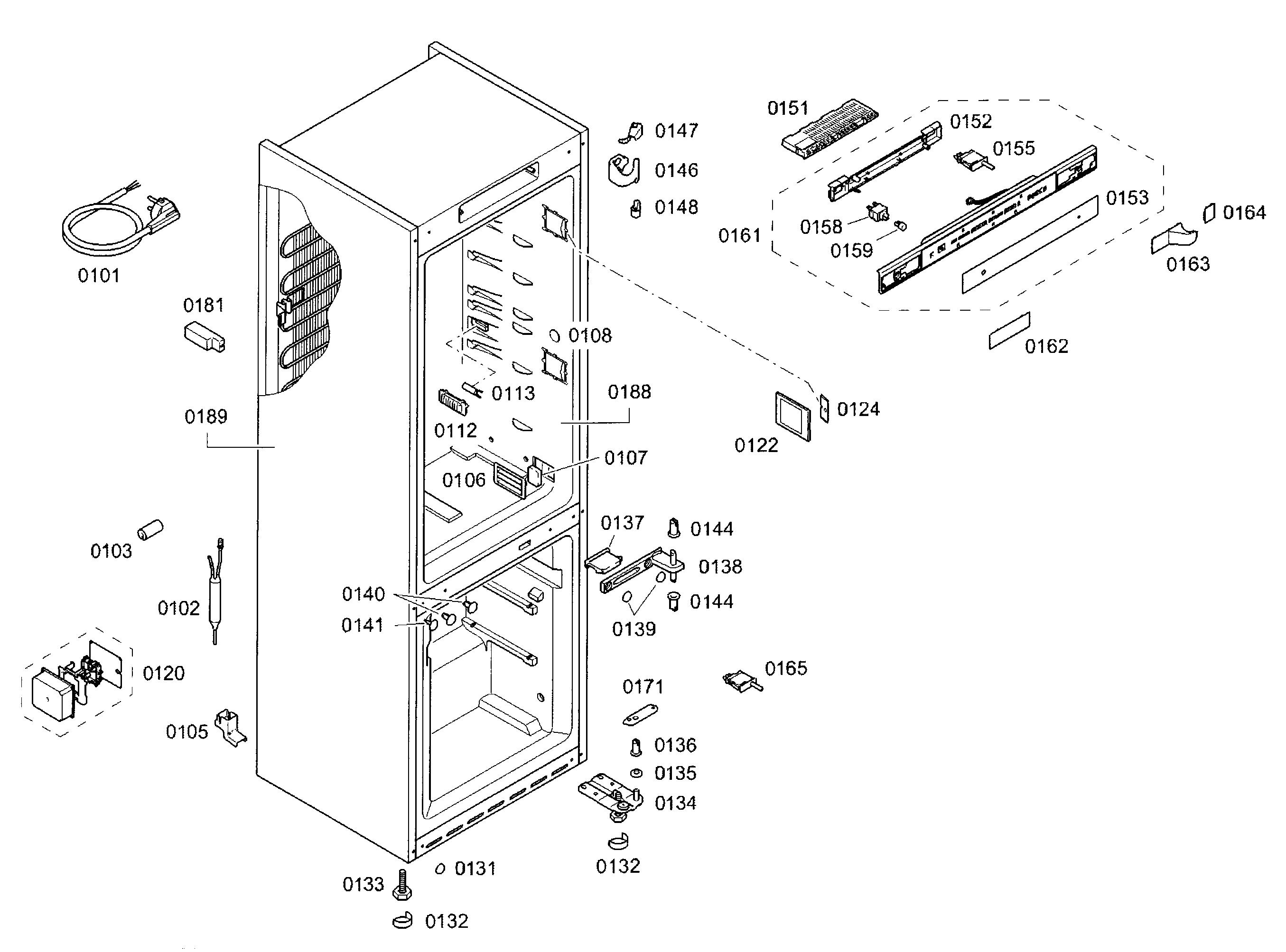 Bosch  Refrigerator  Cabinet