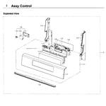Samsung NX58K7850SS/AA-00 control diagram