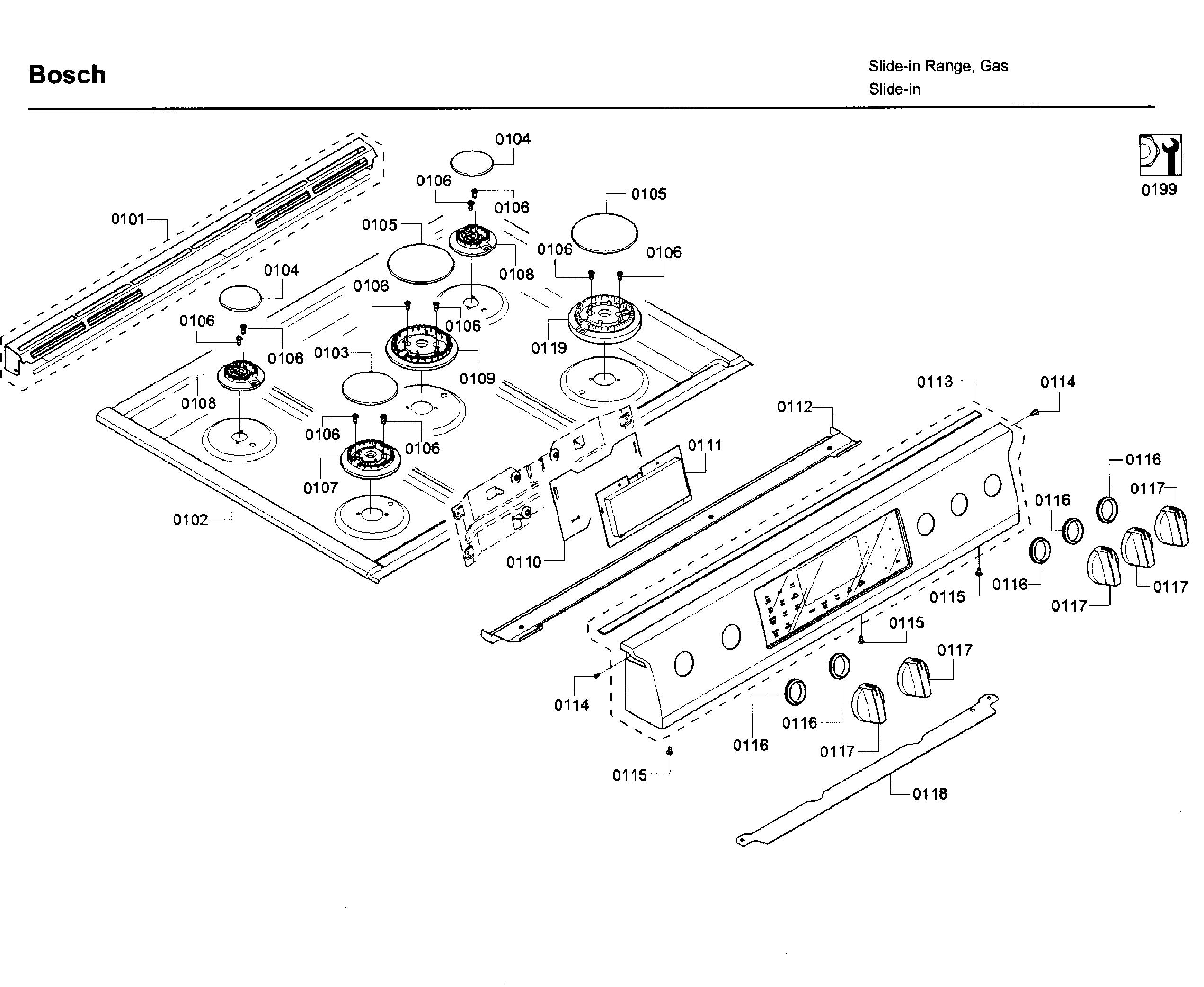 Bosch  Range  Cooktop