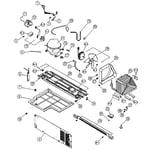 Kenmore 11161219610 machine room diagram