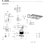 Samsung RF28K9380SG/AA-02 cycle diagram