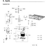 Samsung RF28M9580SR/AA-00 compressor diagram
