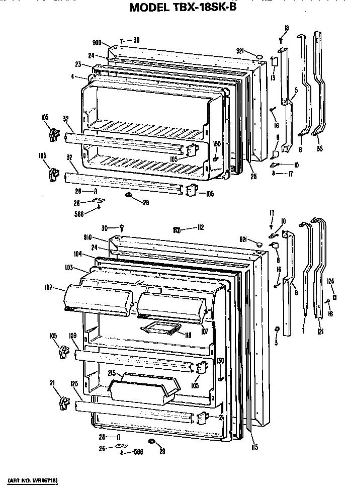 refrigerator parts  ge refrigerator parts diagram manual