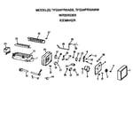 GE TFG24PRXABB icemaker diagram