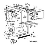 GE TBX18JIZLRWW cabinet parts diagram