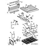 Hotpoint CTX14AYBBRAA unit parts diagram