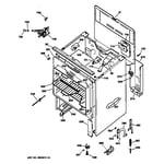 GE JBP60BY4WH body parts diagram