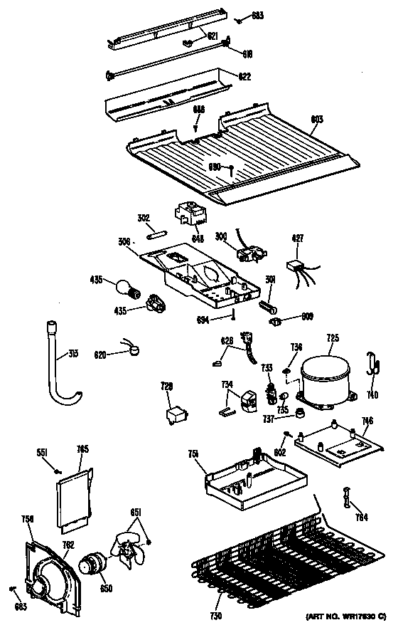 refrigerator compressor compressor ge profile refrigerator Frigidaire Fghs2665kf1