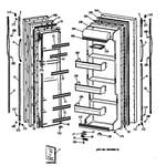 Hotpoint CSC20GASBWH doors diagram