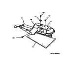 GE JSP26GV1AD door lock diagram