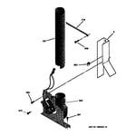 GE JSP26GV1AD blower diagram