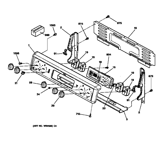 GE JBP26BB1AD control panel diagram