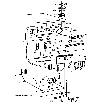 GE TFH22PRXFAA fresh food section diagram
