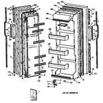 GE TFX20DASBAD doors diagram
