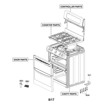 LG LDG4311ST/00 accessory parts diagram