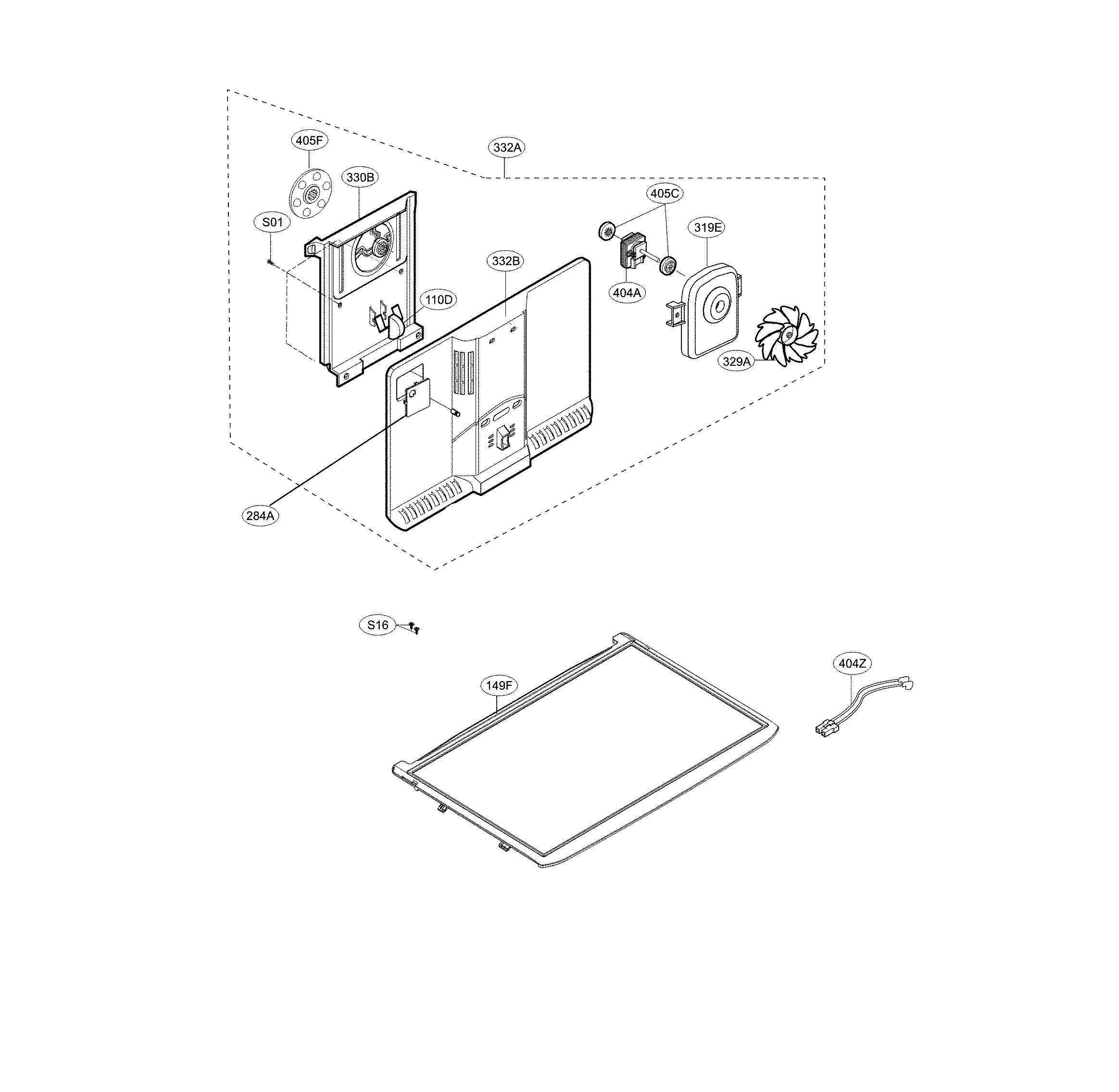 Lg  Refrigerator  Freezer parts