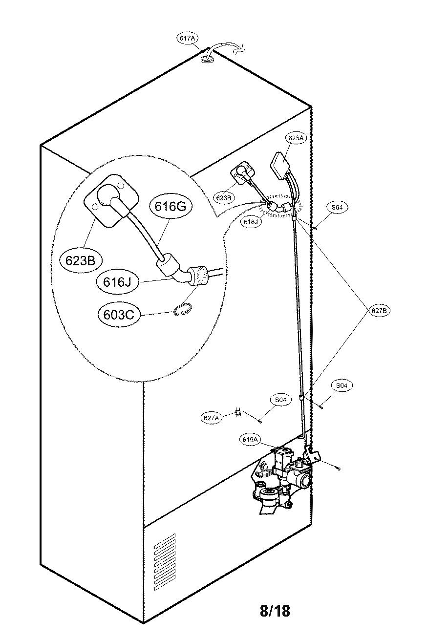 Kenmore Elite  Refrigerator  Valve and water parts