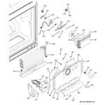 GE PFSS5NFZCSS freezer section diagram